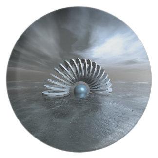 Surreal Frozen Sea Plate