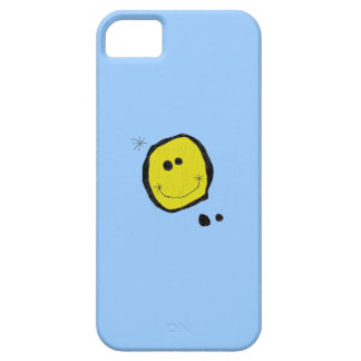 surreal happy face iphone case