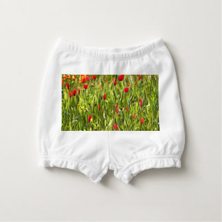 Surreal Hypnotic Poppies Diaper Cover