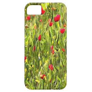 Surreal Hypnotic Poppies iPhone 5 Cases