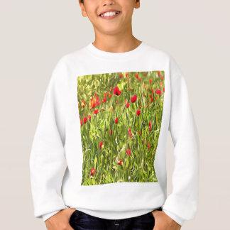 Surreal Hypnotic Poppies Sweatshirt