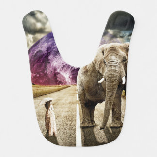 surreal I AND MY ELEPHANT Bib
