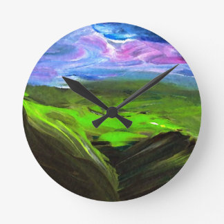 Surreal Landscape CricketDiane Art Products Wall Clocks