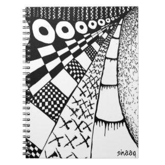 Surreal Nets Notebook Design