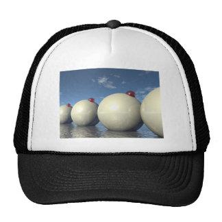 Surreal Spheres Structure Trucker Hat