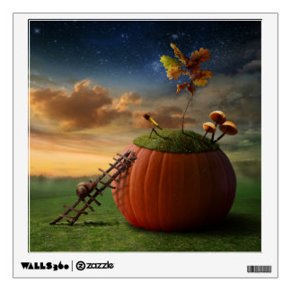 Surreal Stargazer Snail Wall Decal