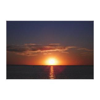 Surreal Summer Sunset Canvas Print