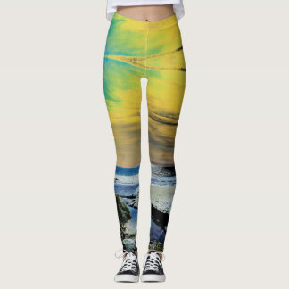Surreal Sunrise Leggings