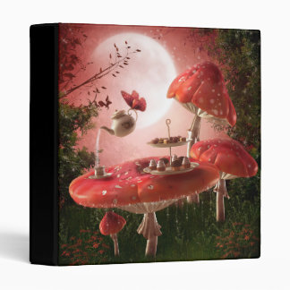 Surreal Tea Party Binder