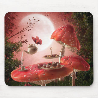 Surreal Tea Party Mouse Pad