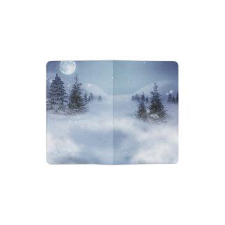Surreal Winter Pocket Moleskine Notebook