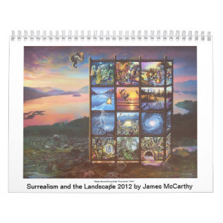 Surrealism and the Landscape 2012 by James McCarth Wall Calendars