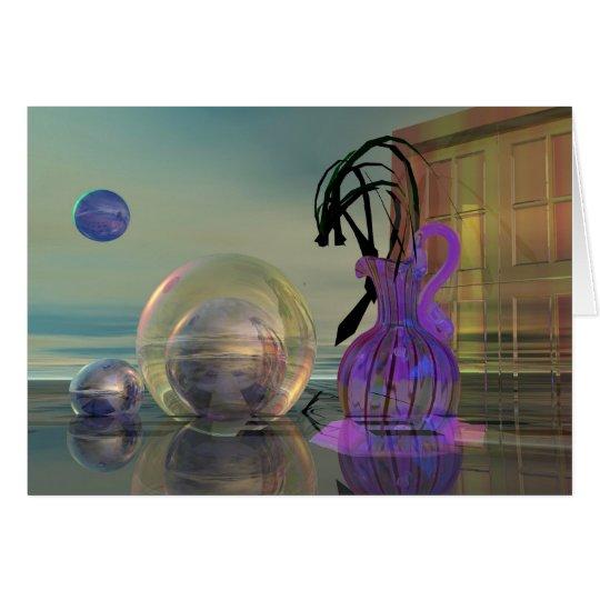 Surrealistic 3d card