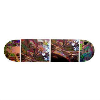 Surreally surf skate deck