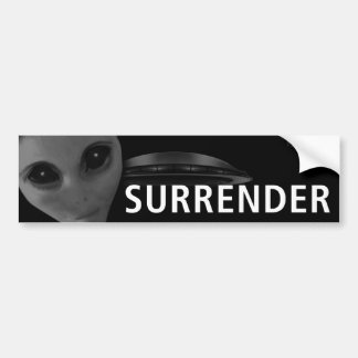 SURRENDER 2 BUMPER BUMPER STICKER