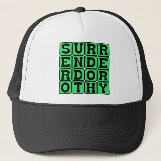 Surrender Dorothy, Witchy Threat Trucker Hat
