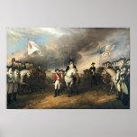 Surrender of Lord Cornwallis at Yorktown Trumbull Poster