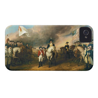 Surrender of Lord Cornwallis by John Trumbull 1820 iPhone 4 Case-Mate Case