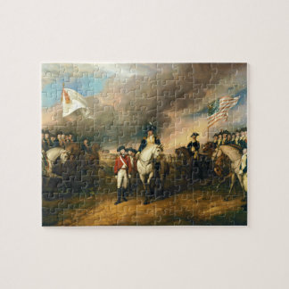 Surrender of Lord Cornwallis by John Trumbull 1820 Jigsaw Puzzle