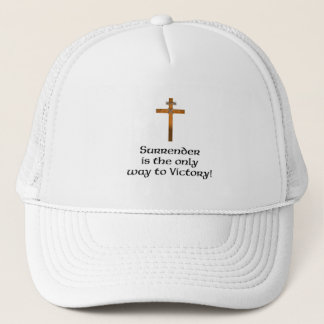 """""""Surrender the Only Way to Victory"""" Hat"""