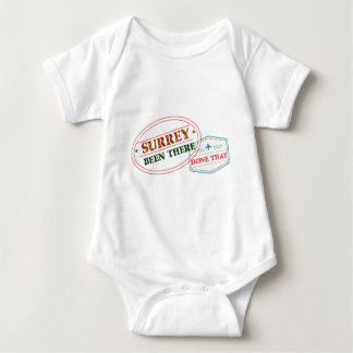 Surrey Been there done that Baby Bodysuit