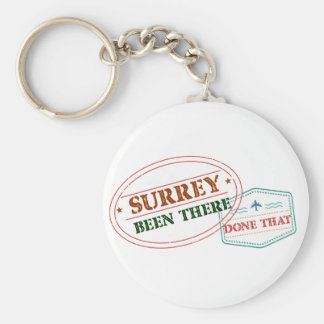 Surrey Been there done that Keychain