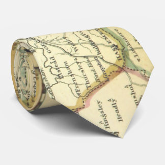Surrey County, Grayshott United Kingdom Map (1842) Tie