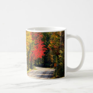 Surrounded By Fall Color Coffee Mug