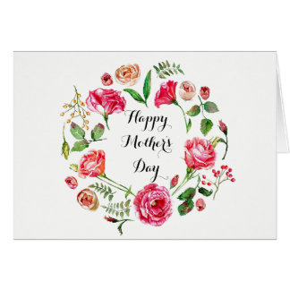 Surrounded by Flowers Mother's Day Card