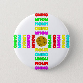 Surrounded By OMNOMs 2 Inch Round Button