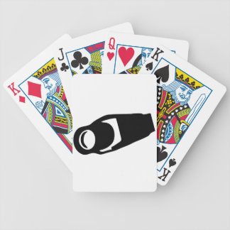 Surveillance Camera Bicycle Playing Cards