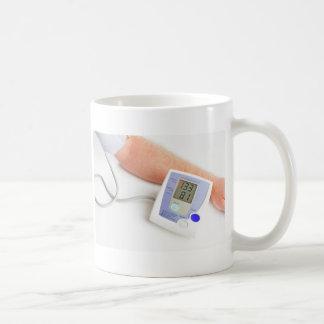 Surveillance de tension artérielle mug blanc