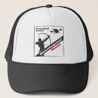Surveillance state - no thanks! trucker hat