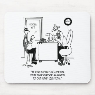 Survey Cartoon 7990 Mouse Pad