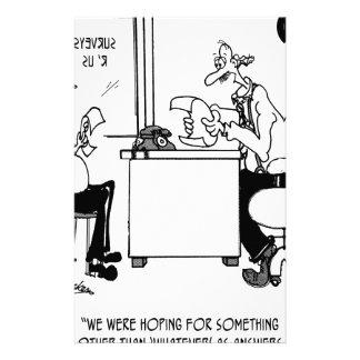 Survey Cartoon 7990 Stationery