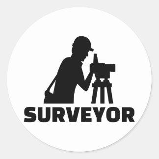 Surveyor Classic Round Sticker
