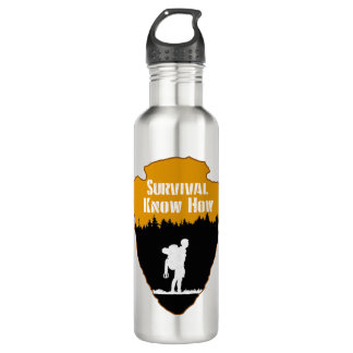 Survival Know How Stainless Steel Water Bottle