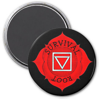 Survival Root Red Chi Chakra Magnet