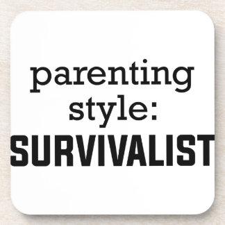 Survivalist Parenting Coaster