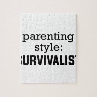 Survivalist Parenting Jigsaw Puzzle