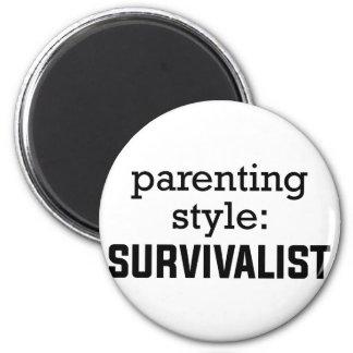 Survivalist Parenting Magnet