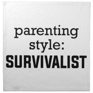 Survivalist Parenting Napkin