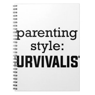 Survivalist Parenting Notebooks