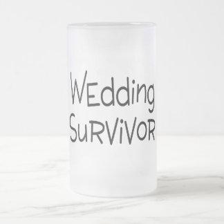 Survivant de mariage mug