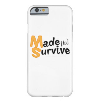 Survive Multiple Sclerosis Awarness Barely There iPhone 6 Case