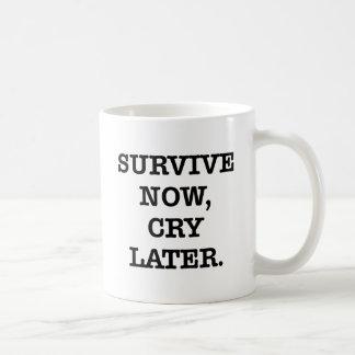 SURVIVE NOW COFFEE MUG