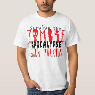 Survive the Zombie Apocalypse with Parkour T-Shirt