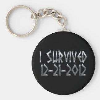 Survived 2012 keychain