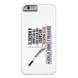 SURVIVING A ZOMBIE ATTACK iPhone 6 case Barely There iPhone 6 Case