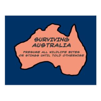 Surviving Australia Postcard